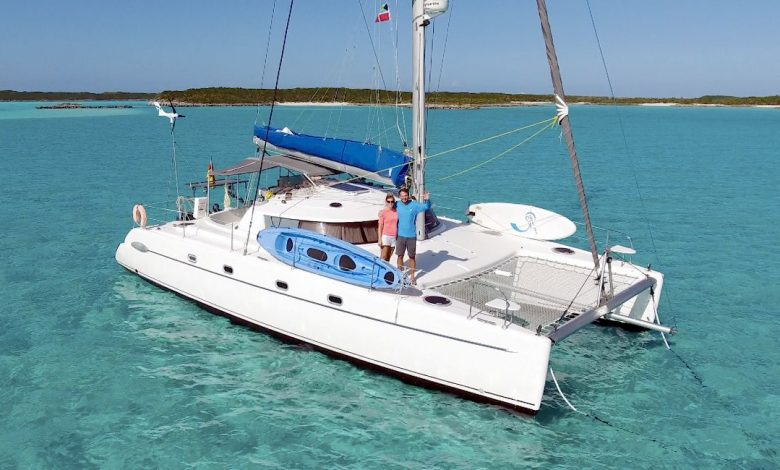 Charter skipper in the Bahamas: When the sail bothers you while sailing
